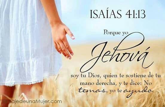 Nuestra Fe en Dios: ISAIAS 41:13