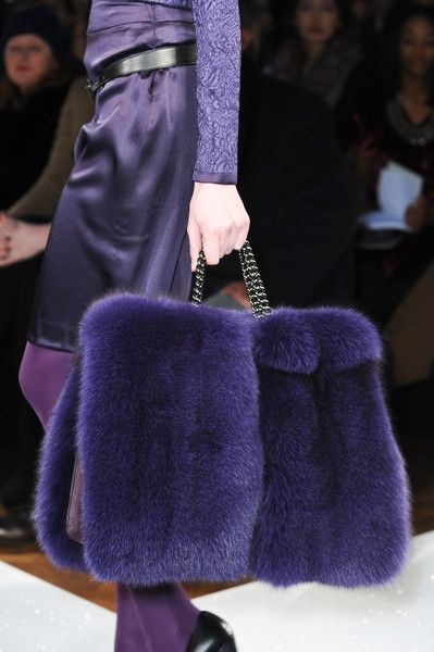 Aigner Fall 2013. Due to the line of work I do, I can no longer carry a purse :/  I now carry a tote that's practically a piece of luggage. So I might as well really like it ;)