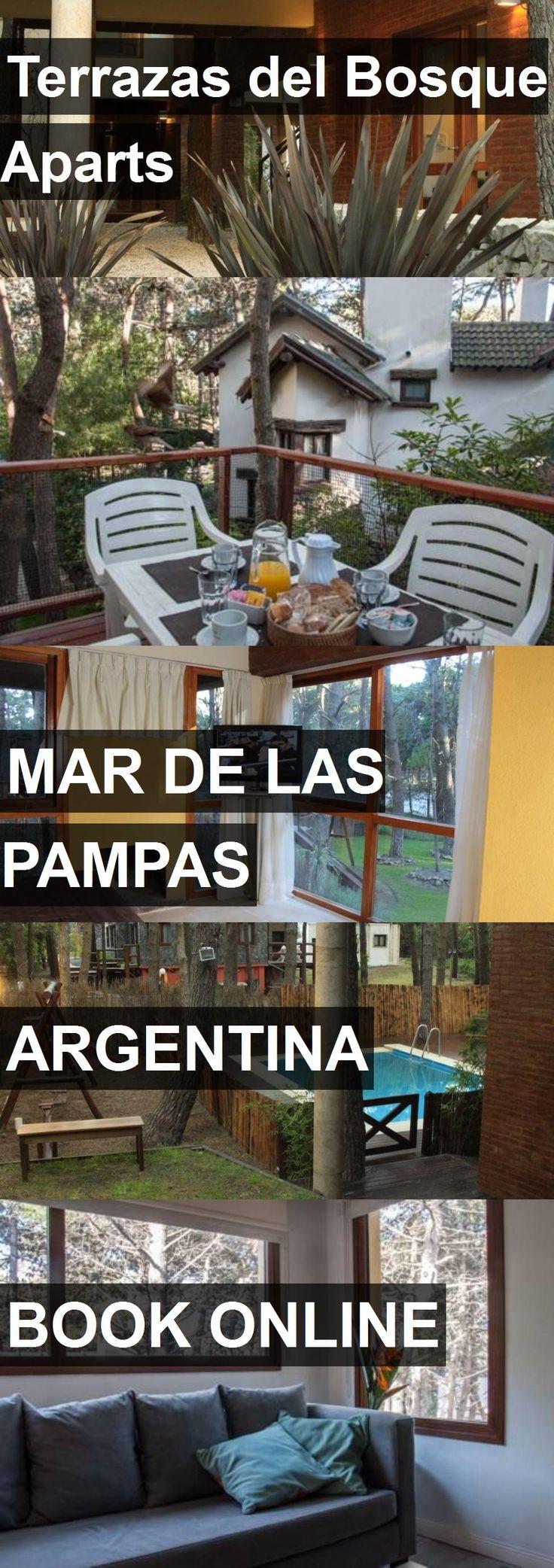 Hotel Terrazas del Bosque Aparts in Mar de las Pampas, Argentina. For more information, photos, reviews and best prices please follow the link. #Argentina #MardelasPampas #hotel #travel #vacation