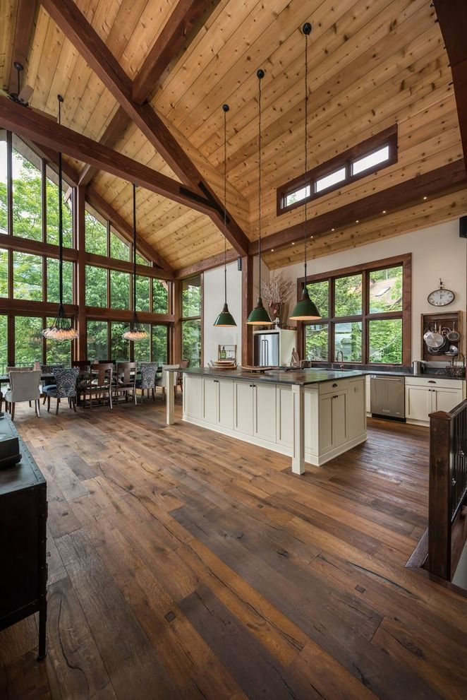 24 Ideas For Dream House Kitchens Open Concept Floor Plans Step By Step Order 62 Conce Dream House Ideas Kitchens Open Concept Floor Plans Yankee Barn Homes