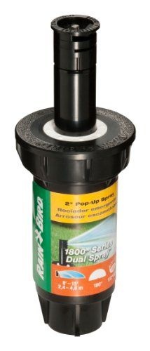 """Best price on Rain Bird 1802HDS 2"""" Professional Dual Spray Pop-Up Sprinkler, 180° Half Circle Pattern, 8' - 15' Spray Distance  See details here: http://bestgardenreport.com/product/rain-bird-1802hds-2-professional-dual-spray-pop-up-sprinkler-180-half-circle-pattern-8-15-spray-distance/    Truly a bargain for the new Rain Bird 1802HDS 2"""" Professional Dual Spray Pop-Up Sprinkler, 180° Half Circle Pattern, 8' - 15' Spray Distance! Check out at this low priced item, read customers' opinions on…"""