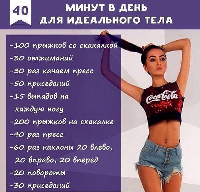 Пятидневная Тренировка На Похудение. Эффективные тренировки для похудения
