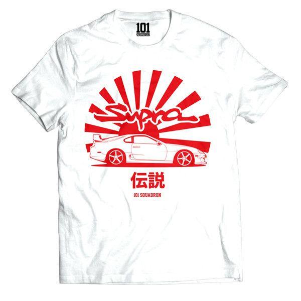 Supra Legend Shirt - White