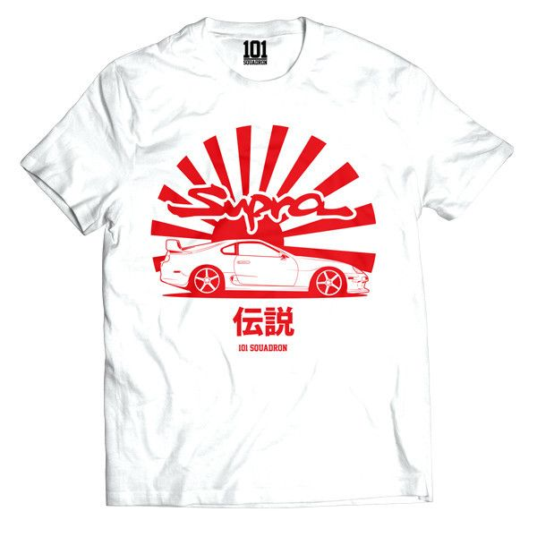 Supra Legend Shirt - White
