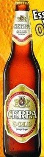 Cerveja Cerpa Gold, estilo Standard American Lager, produzida por Cerpa Cervejaria Paraense, Brasil. 4.5% ABV de álcool.