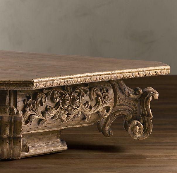 Baroque Capital Coffee Table