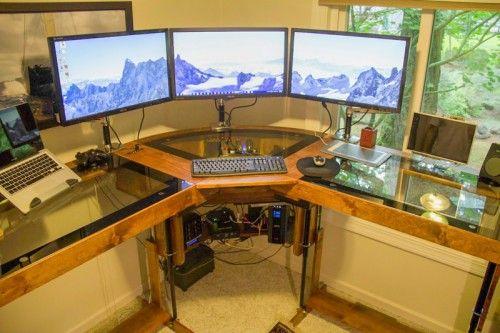 Diy Motorized Standing Desk Office Inspiration