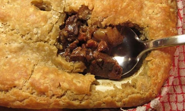 Is steak and ale pie enough to tempt you off the January detox wagon, or maybe even ensure you never climb aboard?