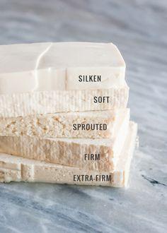 Types of Tofu, tofu for life, uses for soybeans, sliken tofu, soft tofu, sprouted tofu, vegetarian options, asian cuisine