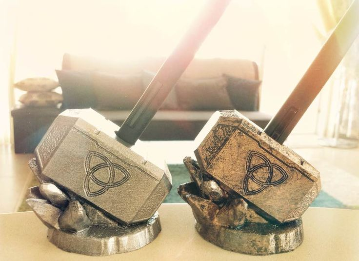 Thor inpsired 3D Printed Wacom Pen Holders