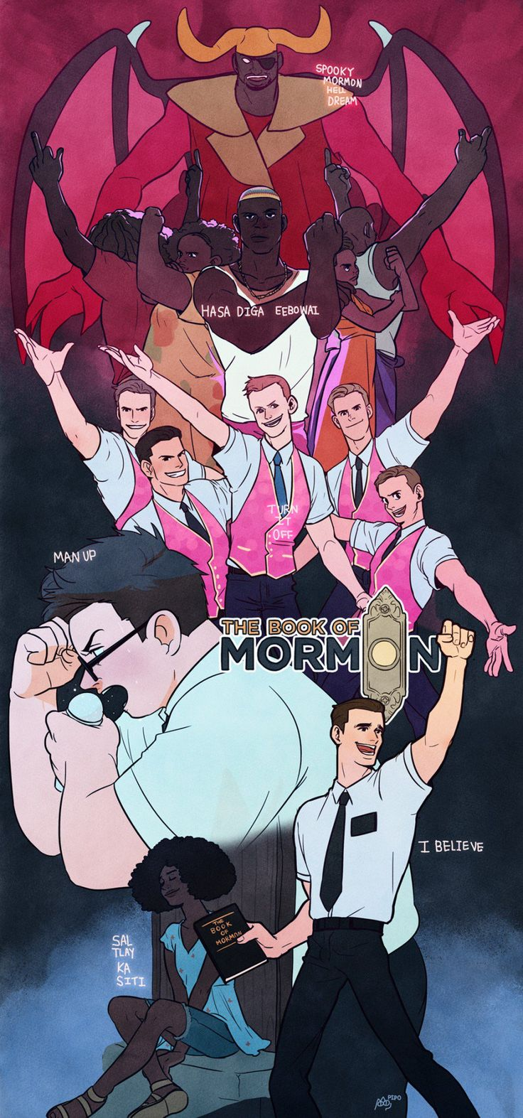 Your unofficial online source for The Book of Mormon news and updates since November 2010. From Trey...