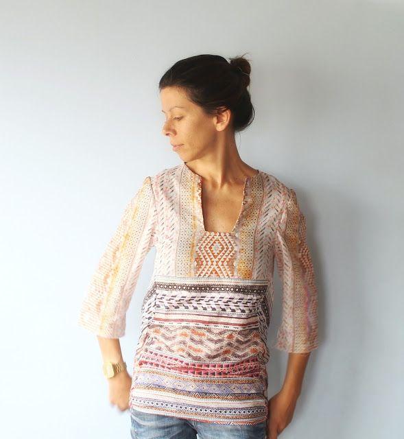 Cosette blouse KZJO Studio