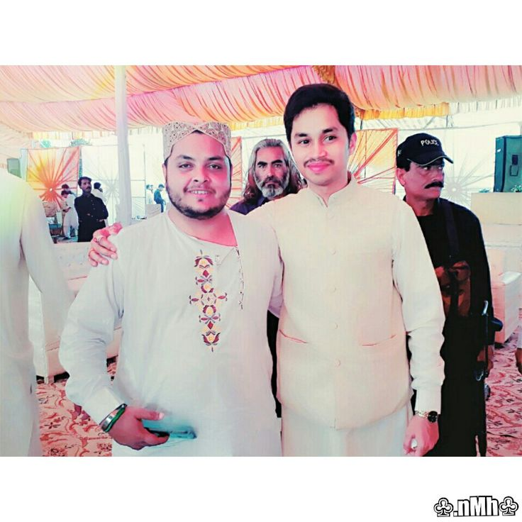 Wishing you all the love and happiness in the world and congratulations on your marriage my sweetest friend Khawaja Nazar Ul Haq(Sakhi Fazal).