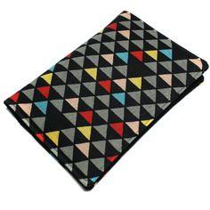 Étui pour papiers de voiture homme femme géométrique triangle - pochette carte grise, permis, assurance