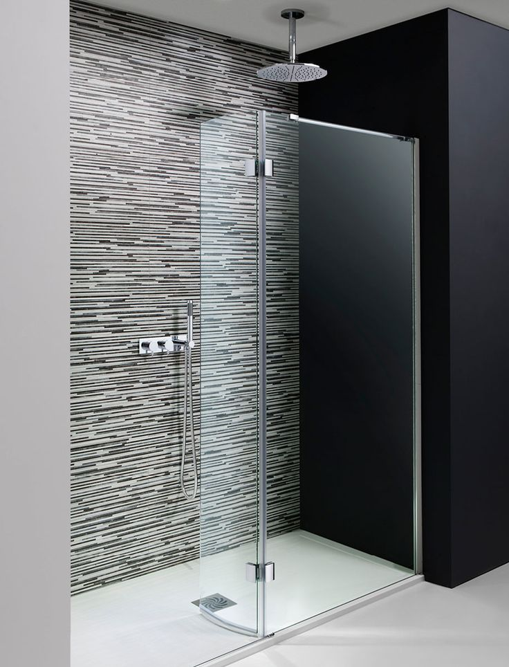 Design Walk In Easy Access Shower Enclosure in Frameless | Luxury bathrooms UK, Crosswater Holdings