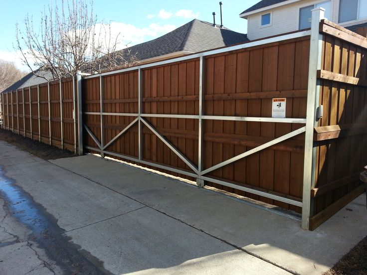 Best houston automatic gate designs images on pinterest