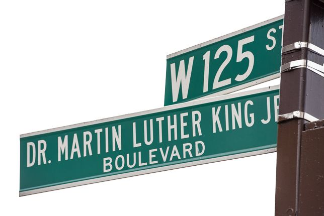 Martin Luther King's birthday is January 15. In 1986, it was declared a national holiday. Today, almost every city in America has a street or a park or a school named after him.  From our Topic Who Was Martin Luther King Jr.? | Kids Discover