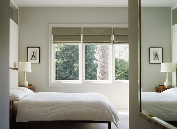 bedroom with roman blinds The DIY Blind Date Guide: Finding the Perfect Window Treatment Match
