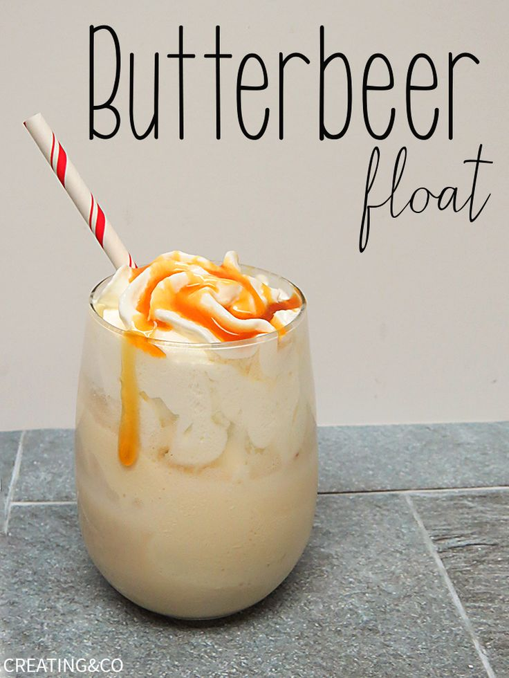 This boozy Butterbeer float has cream soda and butterscotch schnapps to get Hogwarts hoppin'.
