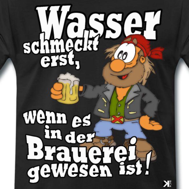 Wasser schmeckt gut! Tag des Bier-Vaters Mallorca Hemd 2019   Herren, Premium-T-Shirt – FunShirt by KRICH