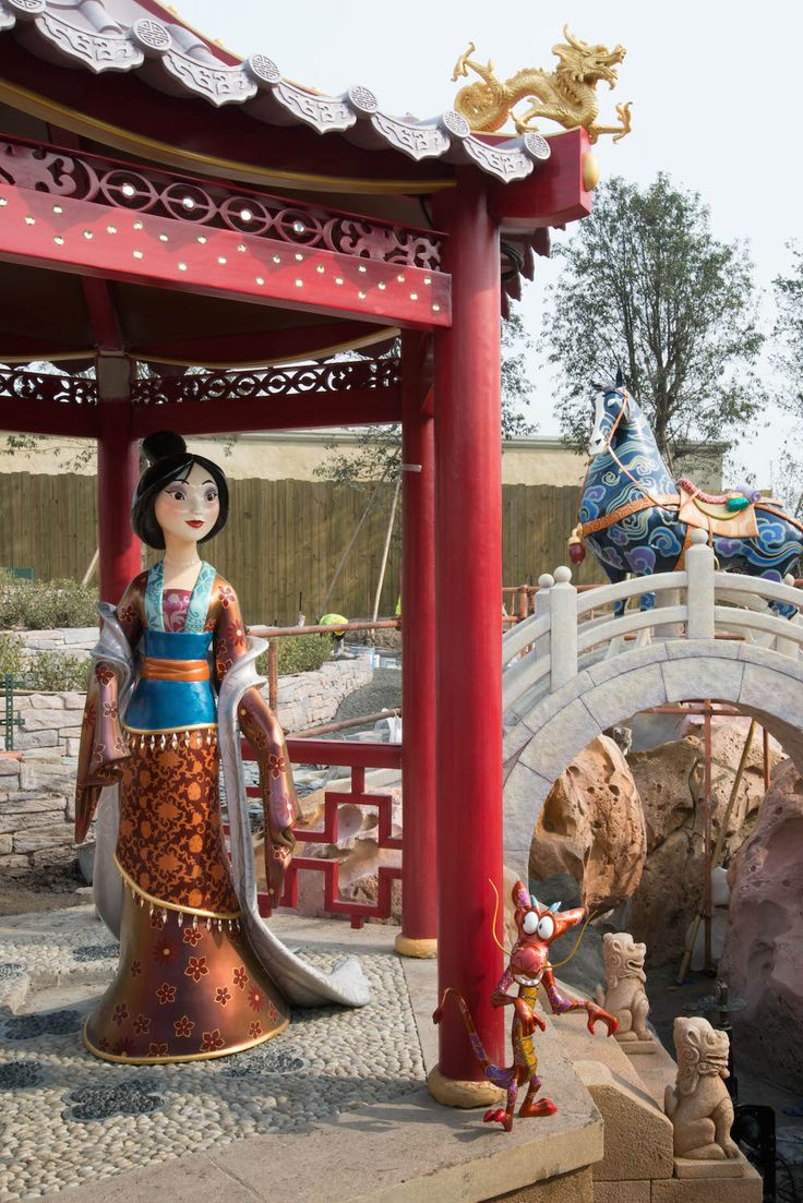 With 99 Days Until Opening, Go Inside the Shanghai Disney Resort   Disney Insider   Articles
