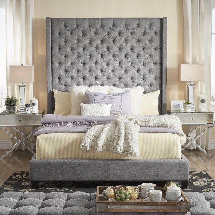 Neher Upholstered Standard Bed In 2019 Upholstered
