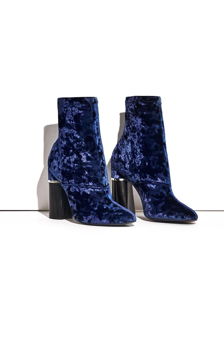 466 Best Boots Love Images On Pinterest Online Clarette Wedges Coraline Beige Designer Clothing 31 Phillip Lim Blue Crushed Velvet Ankle