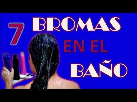 7 Bromas para hacer en un Baño - YouTube #bromas #pranks #funny #lol #videos #aprilfoolsday #inocentadas #ideasbromas #prankideas