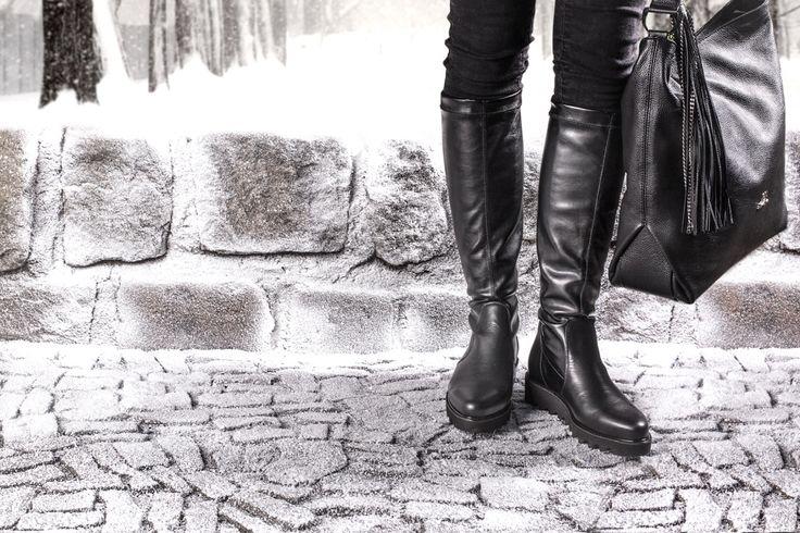 #Apia #kozaki z dopasowaną cholewką #moda #trend #zima