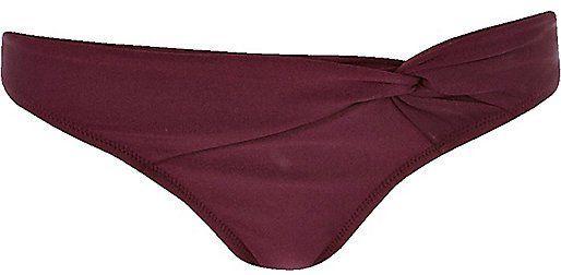 Pin for Later: Diane Kruger's Bikini 'Gram Is Giving Us All the Friday Feels  River Island Women's Purple Bikini Bottoms ($20)
