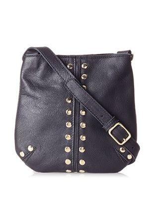 Costella Women's Lisa Cross-Body (Black/Gold)