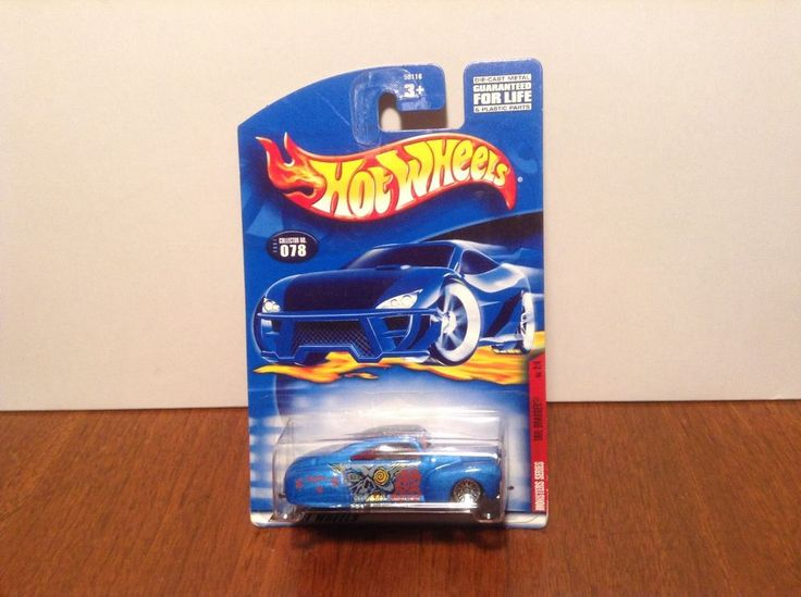 Hot Wheels Tail Dragger #78 Monsters Series #2 of 4 2001 Blue 1941 Ford Coupe #HotWheels #Ford