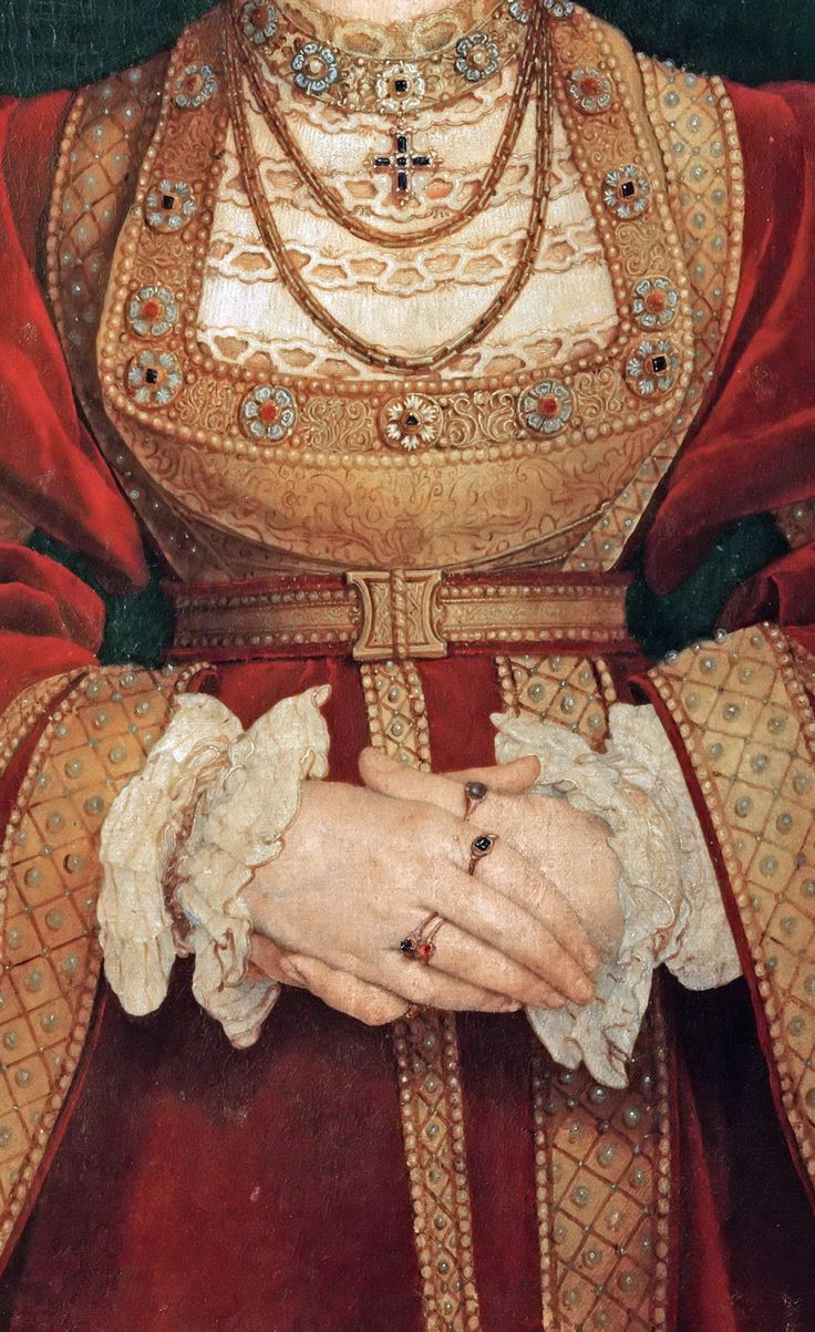 Hans Holbein the Younger (1497 or 1498-1543) -- Anne of Cleves (1515-1557), fourth wife of King Henry VIII