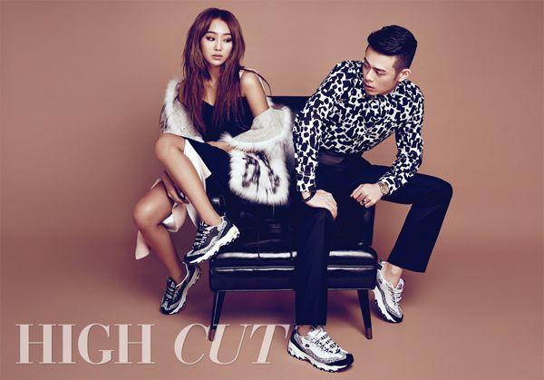 Sistar Hyo Rin and Beenzino - High Cut Magazine Vol.142