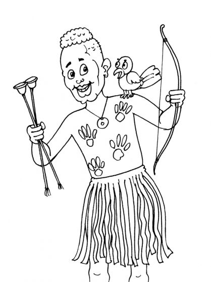 africa coloring pages preschool - photo#11