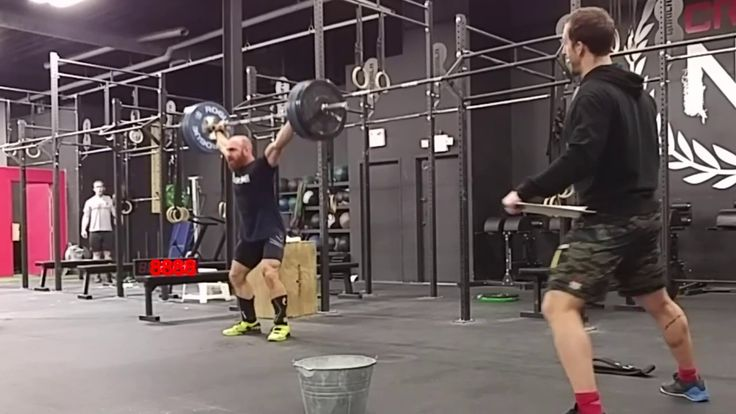 Lucas Parker really likes to crouch #crossfit #fitness #WOD #workout #fitfam #gym #fit #health #training #CrossFitGames #bodybuilding