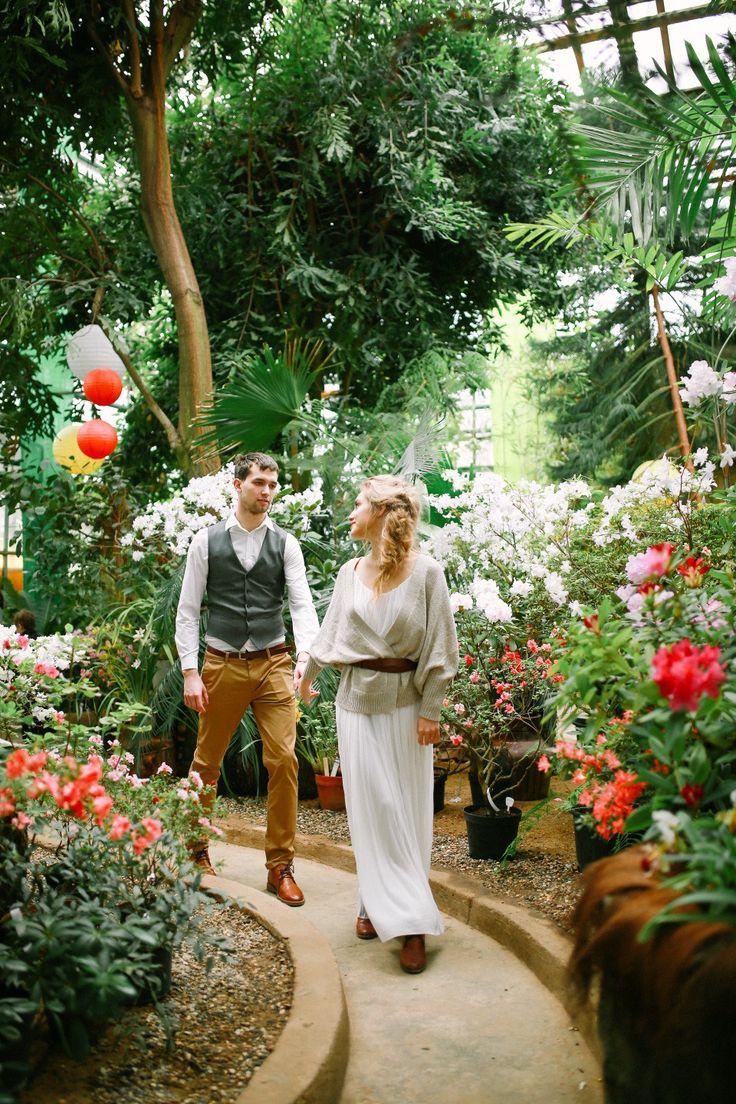 Тропические сады мегаполиса: love-story Екатерины и Дмитрия - Weddywood