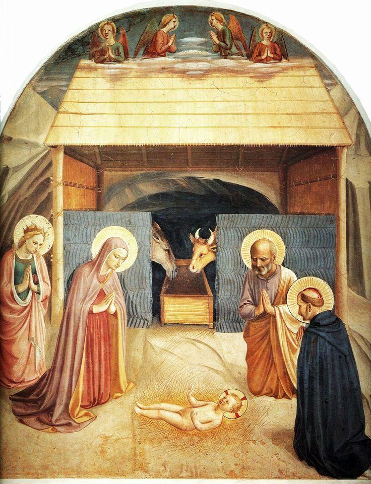 Fra Angelico 1387-1455 Nativity 1441.
