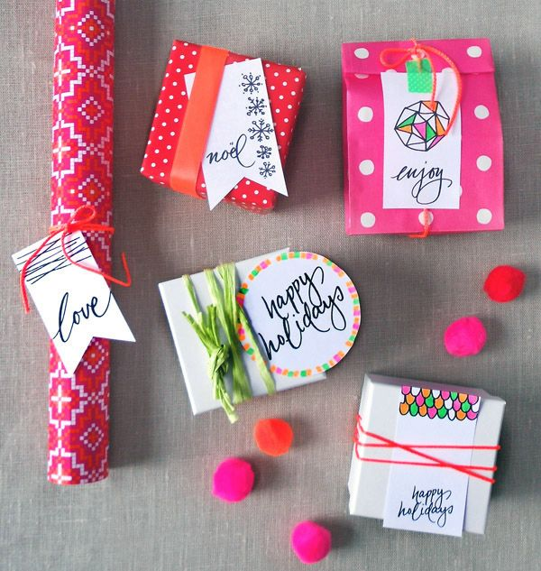 Christmas Wrapping Ideas � Neon Magic...