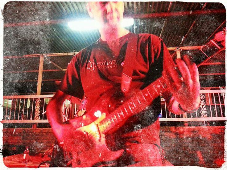 Dewald Koekemoer on Guitar - The Color Blew