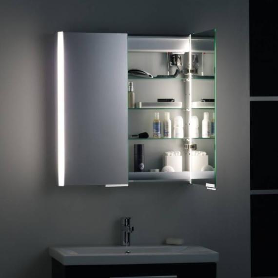 Roper Rhodes Aluminium Summit Bathroom Cabinet With Light