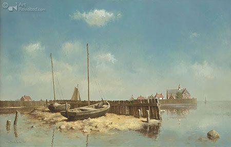 "Marius van Dokkum (Dutch, born 1957) ""Schokland"""