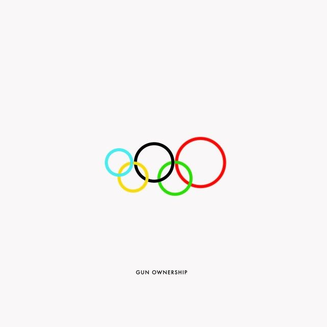 """Excellent infography concept with """"The Olympic Rings"""" based on the rings of the Olympic Games, representing the different continents of the planet. Work Gustavo Sousa with statistical data according to this legend: (Oceania: blue, Europe: Black America: Red, Africa : yellow, Asia: green)."""