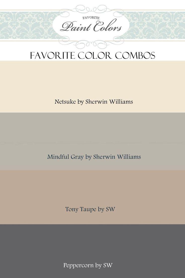 Favorite Paint Colors: color combinations