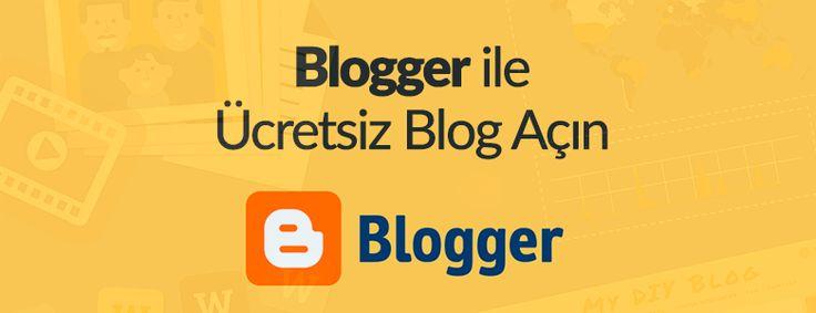 Blogger kullanarak ücretsiz blog açma çok kolay. BlogSpot nasıl açılır adım adım, resimli ve detaylı anlatım. Sizinde web siteniz olsun.
