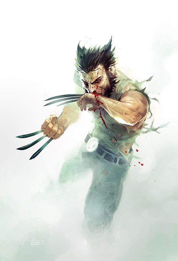 Wolverine by Michal Ivan