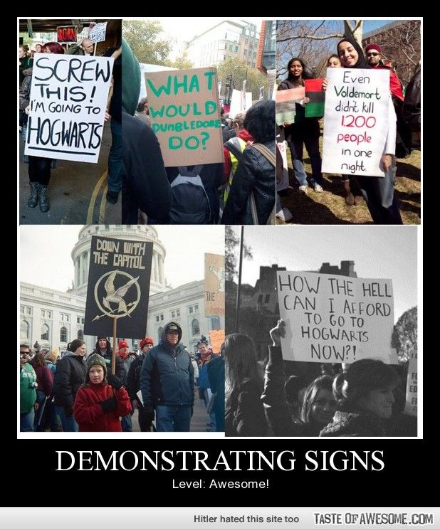 Demonstrating Signs: Level awesome