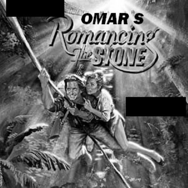 Omar S -Romancing The Stone #vinylrecords #artwork