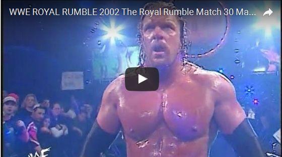 WWE ROYAL RUMBLE 2002 The Royal Rumble Match 30 Man HD