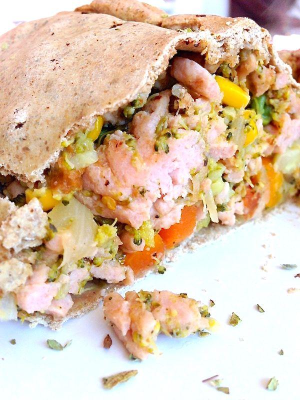 RECETA FITNESS/ Empanada de pollo. fitfoodmarket